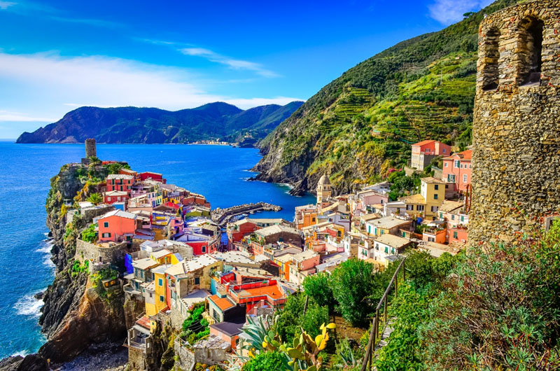 Select Private Tours Packages to Cinque Terre