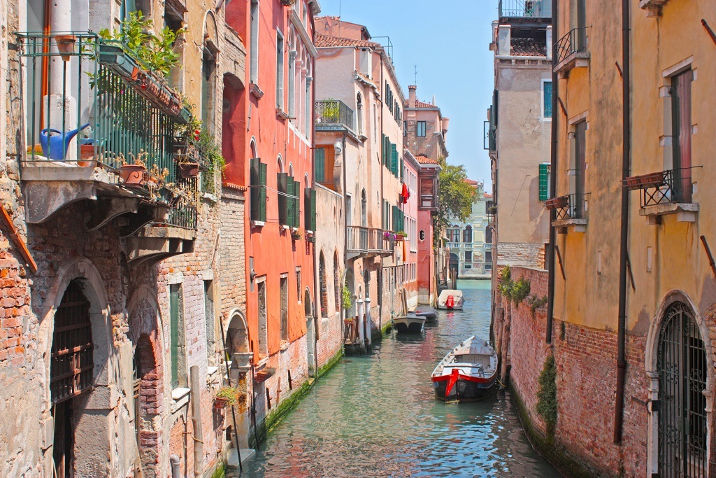 Northern Italy Canals, Art Galleries, and Palaces